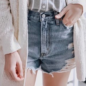 Abercrombie & Fitch Annie High Rise Short